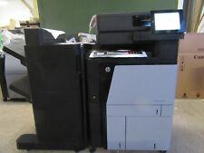 HP Colour LaserJet Flow MFP M880z+ M880 A3 A4 Printer Stapler Stacker WARRANTY