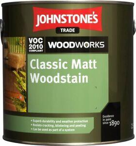 2.5L Johnstones Classic Matt Woodstain Pine