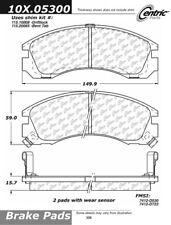 Centric 101.05300 Disc Brake Pad-C-Tek Standard NAO Brake Pads