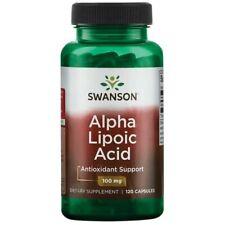 Alpha Lipoic Acid 120 Capsules 100 mg