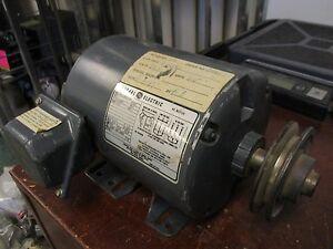 GE Motor 5K45SG8058 2HP 1725RPM 3PH 230/460V 6/3A 60Hz Used