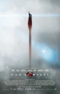 Man Of Steel movie poster (j) 11 x 17 inches - Superman poster