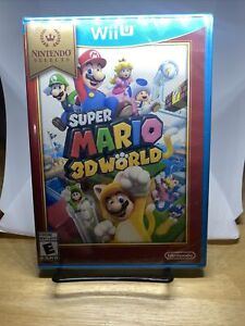 SUPER MARIO 3D WORLD  (Nintendo Wii U, 2013) Selects Cover (NEW/SEALED)