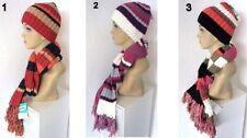 Écharpes et châles en acrylique avec un motif Rayé pour femme