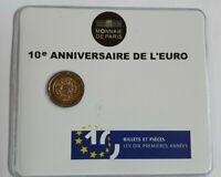 Coincard mit 2 Euro Gedenkmünze Frankreich 2012  BU  € Bargeld  / Blister
