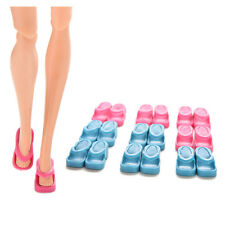 10 Pairs Dolls Shoes Slippers For Barbie Doll Girls Christmas Gift Random CEF