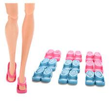 10 Pairs Dolls Shoes Slippers For Barbie Doll Girls Christmas Gift Random *