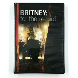 Britney: For The Record (DVD, 2009) Britney Spears RARE