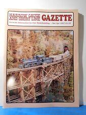 Narrow Gauge & Short Line Gazette 1997 March April Harbor Springs #1