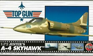 Airfix Haut Pistolet, Jester's A-4 Skyhawk En 1/72 501 St