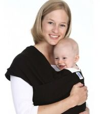 Black Moby Wrap - Baby Carrier