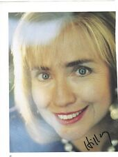 Hillary Clinton Signed Magazine Photo / IN PERSON