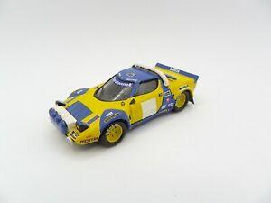 Lancia Stratos Chardonnet Michelin 1/43 Solido Rally Kit Rare