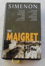 Simenon. Tout Maigret Tome 1. France Loisirs. 2002.