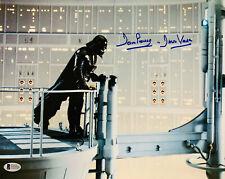 Dave Prowse Signed Star Wars Darth Vader 11x14 Photo - Beckett BAS 24