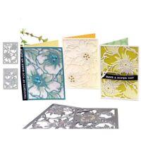 Stanzschablone Blume Hintergrund Hochzeit Weihnachts Oster Geburtstag Karte Deko