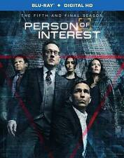 Person of Interest Complete Fifth and Final Season Blu-ray 3-Disc Set 2016 HD