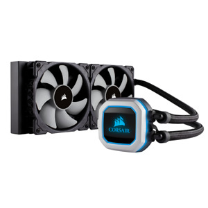 NEW Corsair Hydro Series H100i PRO RGB Liquid CPU Cooler Intel LGA1151/2066/2011
