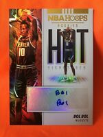 Bol Bol 2019 NBA Hoops Hot Signatures Rookie Autograph Refractor Nuggets MINT RC