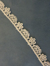 Pretty Assortment Venise lace trims   of white and ivory bridal venice -