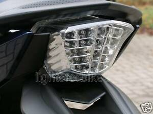 Clear LED tail light Yamaha XJ-6 XJ6 and Diversion ABS version