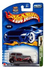 2003 Hot Wheels #79 Flying Aces II Midnight Otto 0711 card