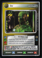 STAR TREK CCG THE BORG RARE CARD ONE