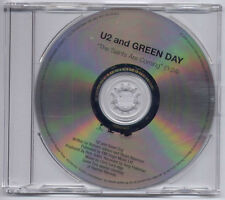 U2 & GREEN DAY The Saints Are Coming UK 1-trk promo CD U2SAINTS1 Skids