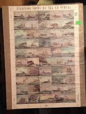 Marshall Islands Fighting Ships Of The 50 States Sheet & FREE GIFT WITH ORDER!