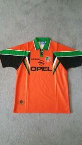 Republic of Ireland away football shirt 1997/98 large