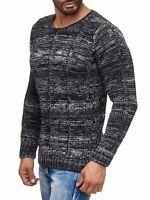 Carisma Strick Pullover Pulli Knit-Jumper Herren Freizeit Schwarz CRSM 7391 M