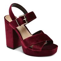 Women's Alexandra Velvet Platform Heel Pumps Mossimo Supply Co.™