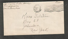 WWII cover Cpl Virginia J Lee Spofford Ave San Antonio TX to NY