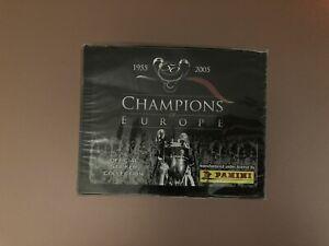 Panini Champions Of Europe Sealed Box