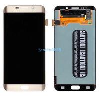Pantalla táctil LCD Display Para Samsung Galaxy S6 edge plus G928F G928 Gold Oro