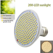 200 LED plant Grow light bulb Full Spectrum Sunlike yellow Fitolamp indoor lamp