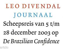 Leo Divendal - Journaal 1 tirada original firmado