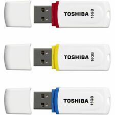 Toshiba 16GB USB 2.0 Flash Drive PA02 3 Pack