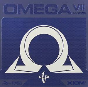 XIOM Omega VII (7) Hyper Rubber Table Tennis Ping Pong HOT!