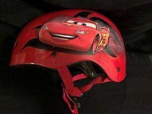 Childs Sz Small Disney Cars Bike Helmet