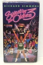 Richard Simmons Sweatin to the Oldies 3  VHS Tape An Aerobic Concert New Sealed