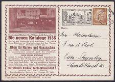 Dr pp 122 B 17/04 estupendos cosa muy Berlín klickow marcas casa, Vandersanden. nowawe 1935