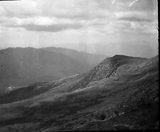 """1920's Nelson Crag and Alpine Gardens Original Acetate Negative - 3 1/4"""" x 4 1/4"""