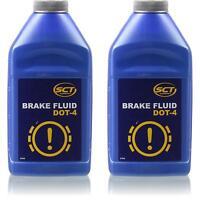 2x500 ml SCT Bremsflüssigkeit DOT 4 Brake Fluid SAE J 1703 FMVSS 116