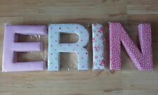 Any Childs Kids Name in Fabric Letters 3d Wall Art Nursery Fast DISPATCH