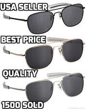 Aviator Men Sunglasses Military Pilot Ultraviolet Polarized Lens Driving Eyewear