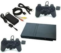 Sony PlayStation 2 PS2 SLIM Game System Gaming Console Bundle | Ships Fast!