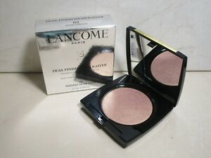 LANCOME DUAL FINISH HIGHLIGHTER 03 RADIANT ROSE GOLD 0.18 OZ BOXED