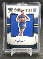 2015-16 Cameron Payne Crown Royale Silhouettes Game Worn Rookie Patch Auto /99