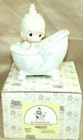 "PRECIOUS MOMENTS by Enesco 1985 Piece 100277 Collectible 5.5"" Porcelain Figurine"